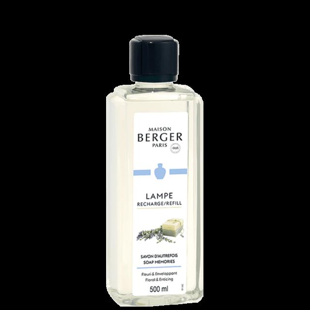 Soap Memories lampeolie refill til Maison Berger lamper