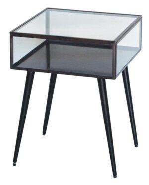 Lille sidebord i metal og glas - A.U Maison - byHviid