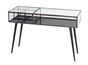 Stort sidebord i metal og glas - A.U Maison - byHviid