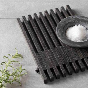 Table frame bordskåner i sort - by Wirth