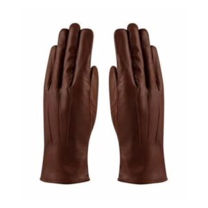 Damelæderhandske, Angelina i brun - byHviid