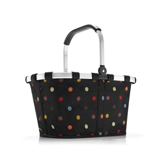 Reisenthel carrybag mixed dots indkøbskurv 22 liter