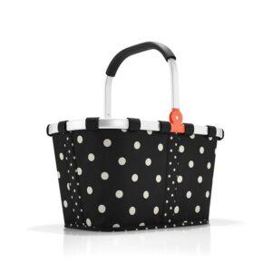Reisenthel carrybag mix dots indkøbskurv 22 liter