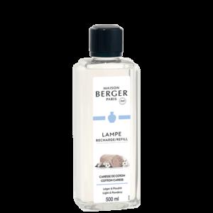 Cotton Caress lampeolie refill til Maison Berger lamper