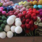 En Gry og Sif stort udvalg af filt blomster mange farver – byHviid