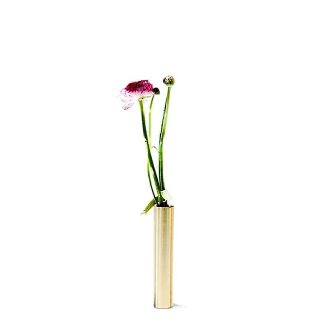 Slim vase 14 cm Brass - 55 North - byHviid