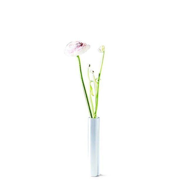 Slim vase 14 cm Stainless Steel - 55 North - byHviid