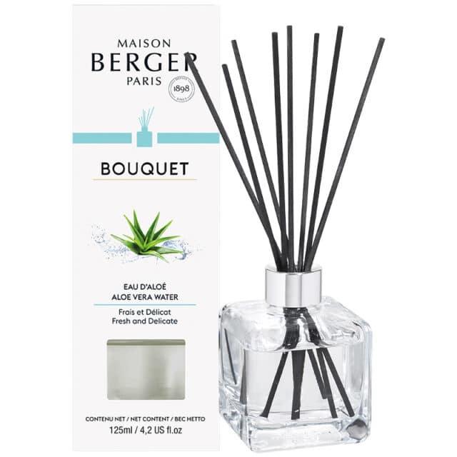 Aloe Vera Water Flakon m. Duftpinde Bouquet fra Maison Berger - byHviid copy