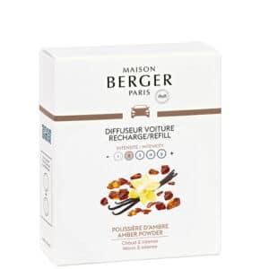 Amber Powder duft til bil refill - Maison Berger - byHviid