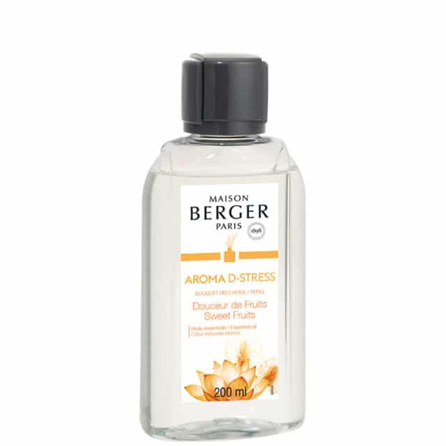 Aroma D-Stress Sweet Fruits refill til duftpinde fra Maison Berger - byHviid