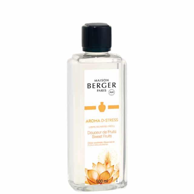 Aroma D-Stress lampeolie refill til Maison Berger lamper - byHviid