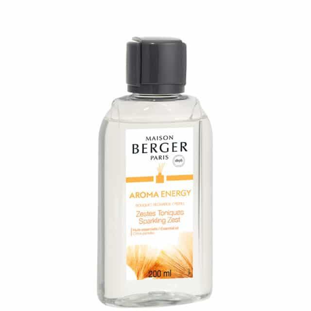 Aroma Energy Sparkling Zest refill til duftpinde fra Maison Berger - byHviid