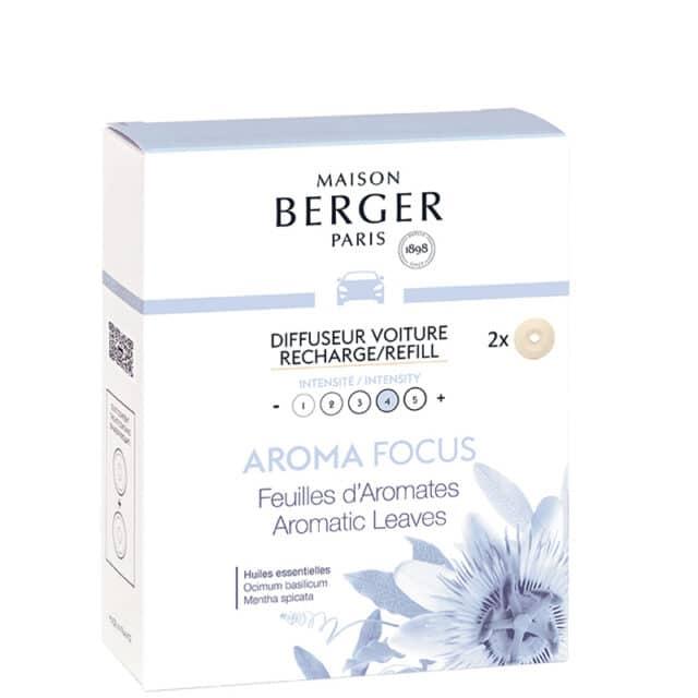 Aroma Focus duft til bil refill - Maison Berger - byHviid