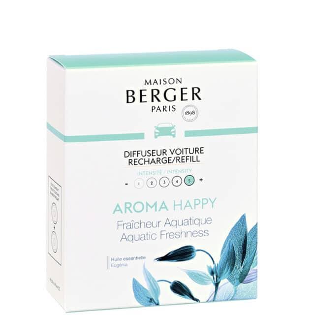 Aroma Happy duft til bil refill - Maison Berger - byHviid