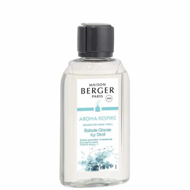 Aroma Respire Icy Stroll refill til duftpinde fra Maison Berger - byHviid