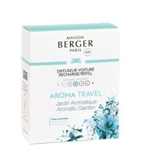 Aroma Travel duft til bil mod køresyge - Maison Berger - byHviid