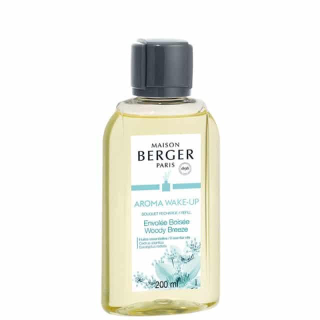 Aroma Wake-Up Woody Breeze refill til duftpinde fra Maison Berger - byHviid