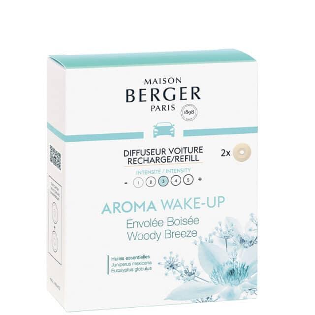 Aroma Wake-Up duft til bil refill - Maison Berger - byHviid