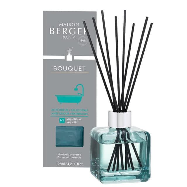 Bathroom Anti-Odour m. Duftpinde Bouquet fra Maison Berger - byHviid