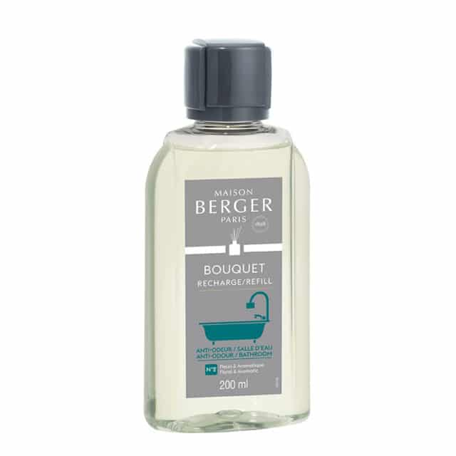 Bathroom Anti-odour nr 2 refill til duftpinde FLORAL & AROMATIC 200 ML - byHviid