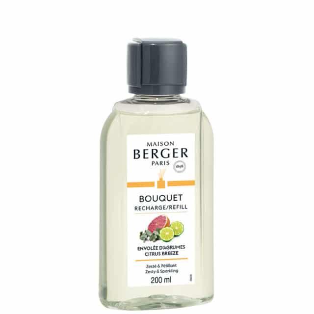 Citrus Breeze duftolie refill til duftpinde fra Maison Berger - byHviid