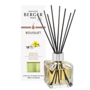 Heavenly Sun Flakon m. Duftpinde Bouquet fra Maison Berger - byHviid