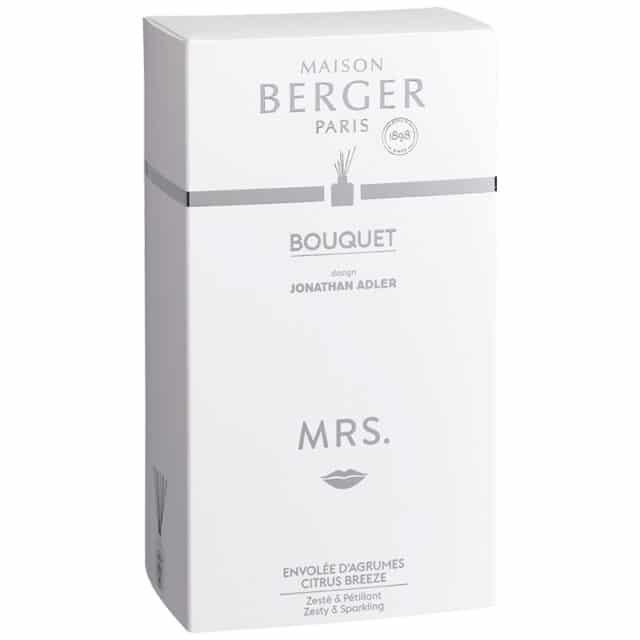 Mrs. Jonathan Adler Flakon m. duftpinde bouquet æske - Maison Berger - byHviid