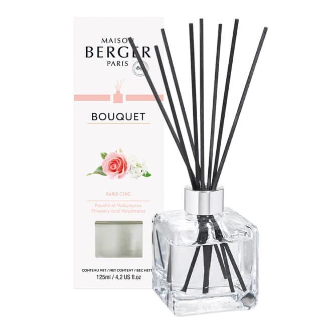 Paris Chic Flakon m. Duftpinde Bouquet fra Maison Berger - byHviid