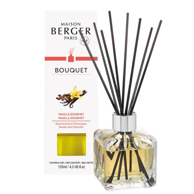 Vanilla Gourmet Flakon m. Duftpinde Bouquet fra Maison Berger - byHviid